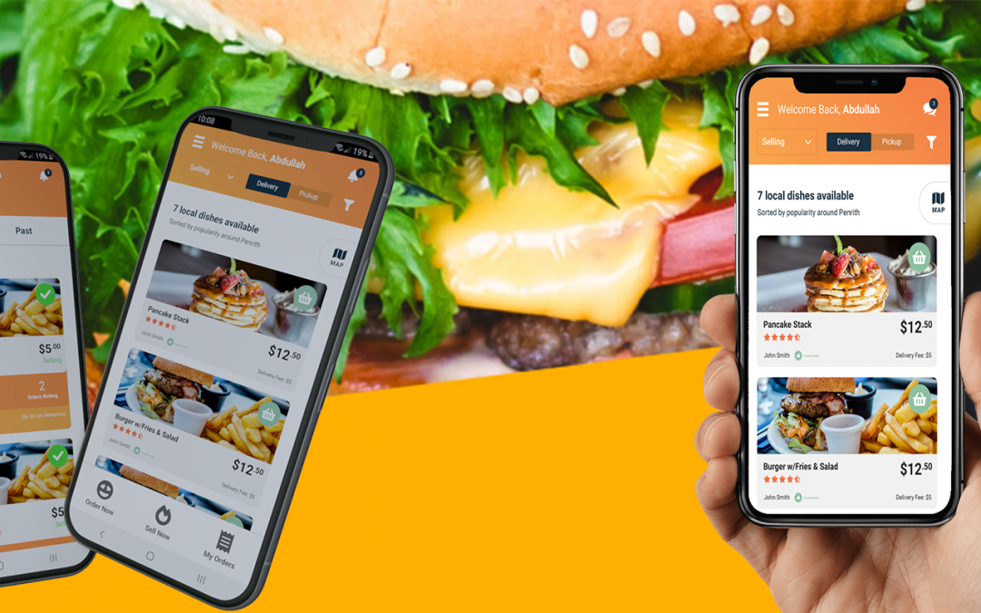 Cravers Australia, a homemade food delivery app